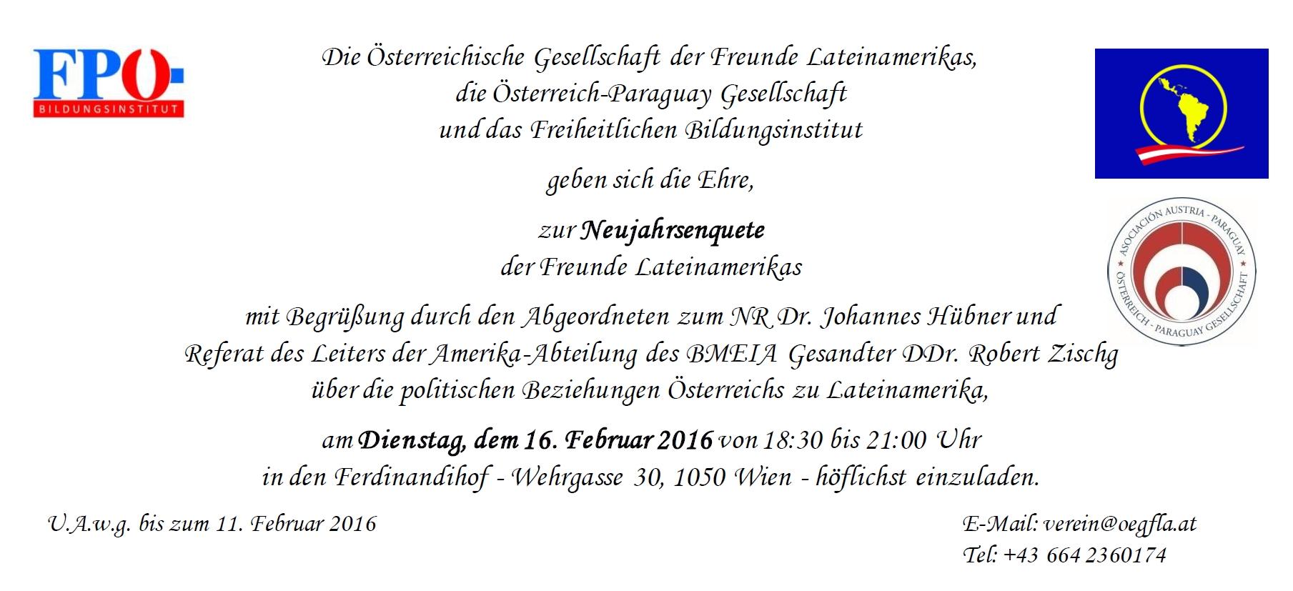 HP Deutsch Einladung