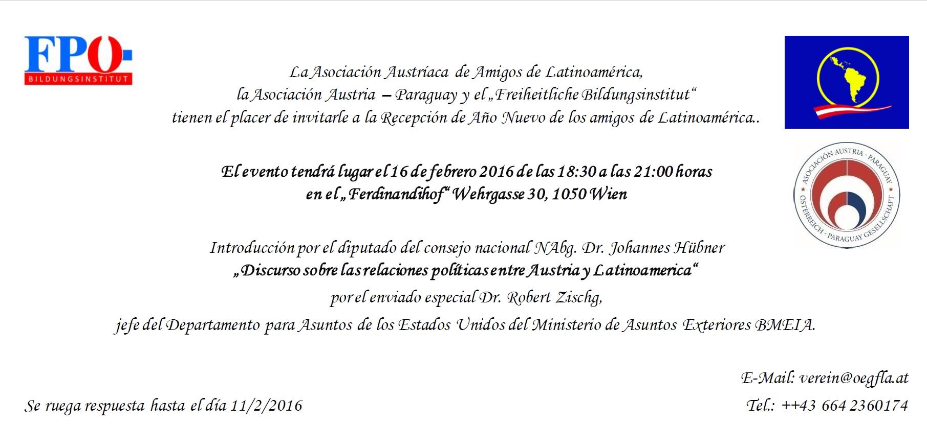 HP Spanisch Einladung
